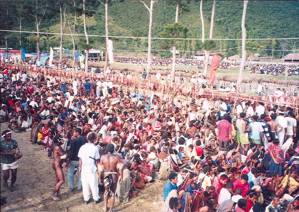 BD/269/184 - Groots feest bij de inzegening van de kerk in Jiwika